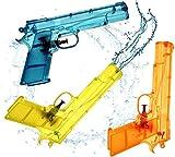 TK Gruppe Timo Klingler 3er Wasserpistole Set - Wasserspritzpistole Spritzpistole klein Mini Wasser für Kinder als Mitgebsel, Kindergeburtstag, Giveaway