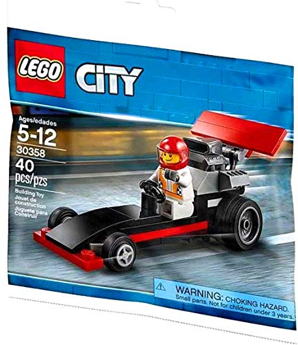 LEGO City - Rennauto mit Fahrer 30358