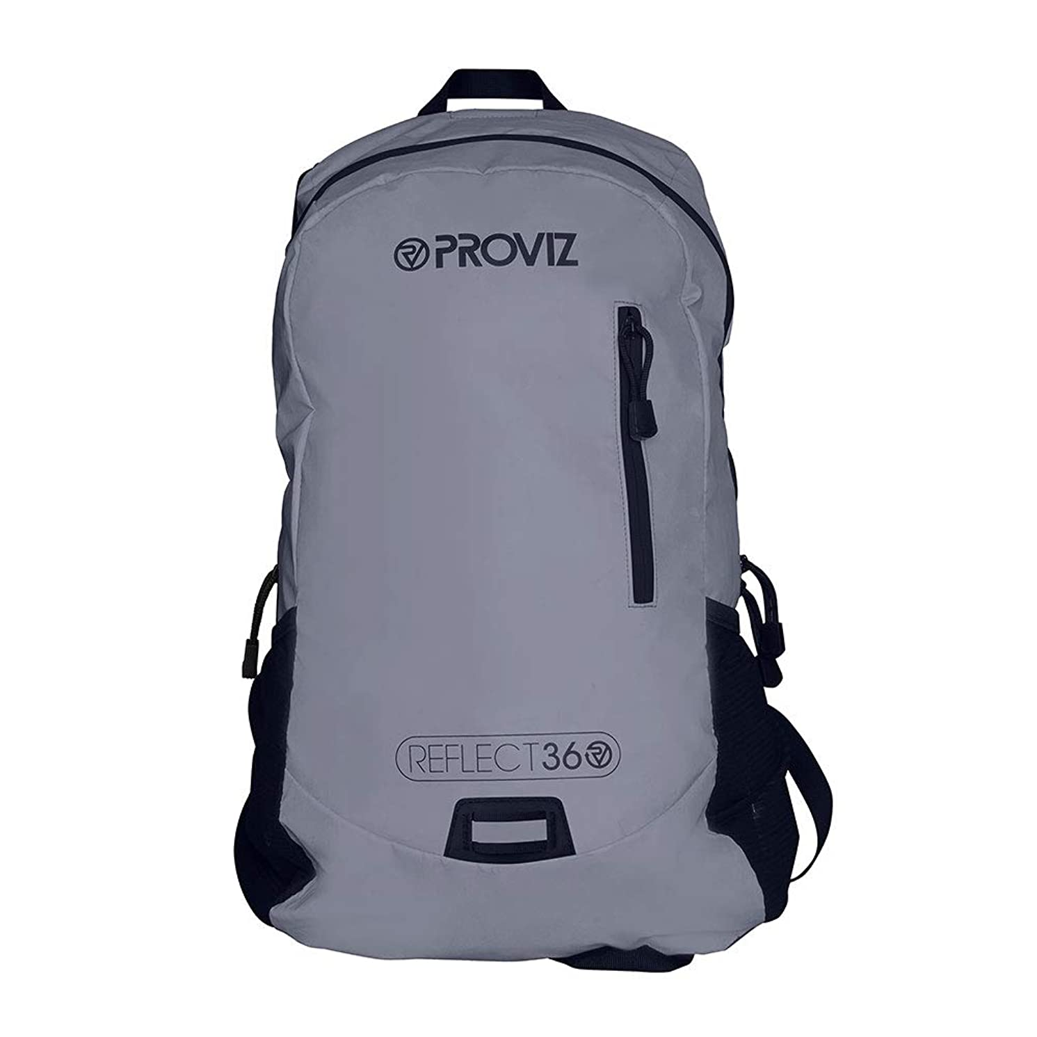 Proviz Sports Reflect360 100% Reflective High-Viz Highly Water Resistant Backpack/Rucksack, Great for Sports + Cycling