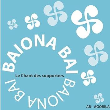 Baiona Bai (Le chant des supporters de l'Aviron Bayonnais) - Single