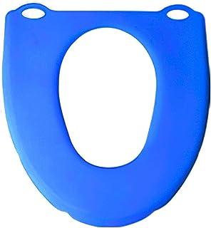 Dnieheic Podkładka na deskę sedesową, miękka, antybakteryjna, silikonowa, składana, duża wielkość, higieniczna, wielokrotn...