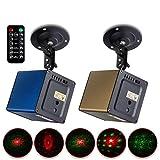 Yi-xir Fashion Design LED Bluetooth Altavoz Láser Etapa Láser Familia KTV Control Inteligente Flash Habitación Dormitorio DC5W Wireless Portable Travel (Color : Yellow)