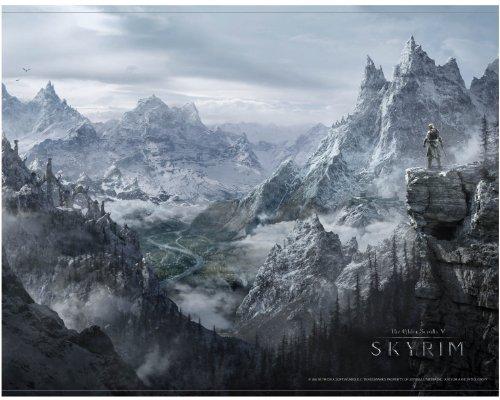 Skyrim Wallscroll Valley