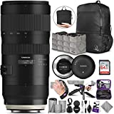 Tamron SP 70-200mm f/2.8 Di VC USD G2 Lens for Canon EF Cameras + Tamron Tap-in...