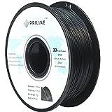 PRILINE 3Dプリンター用 PLAフィラメント【1kg 1.75mm】直径精度+/- 0.03mm、ブラック