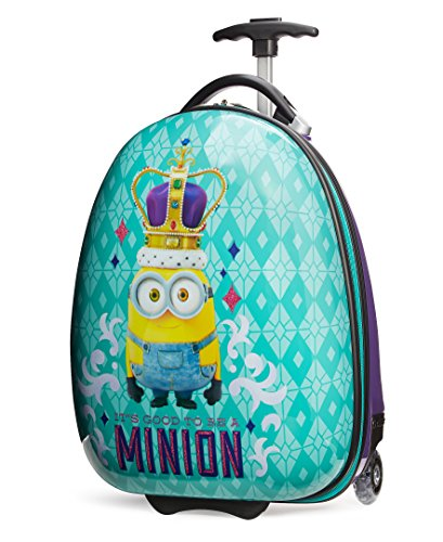 Travelpro Minions Kid's Hardside Luggage, Turquoise/Purple, One Size