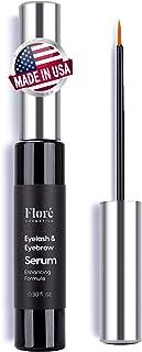 Premium Eyelash Growth Serum and Eyebrow Enhancer, Lash Enhancing Serum Lash boost Serum for Longer, Fuller Thicker Lashes...
