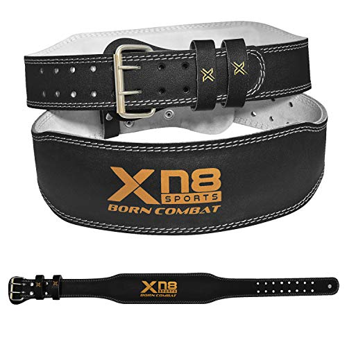 XN8 Sollevamento Pesi Cintura 4 Pollici Cintura per Palestra Pesistica Fitness Allenamento Bodybuilding Allenamento Schiena Lombare
