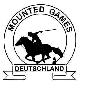 Aufkleber Mounted Games Logo Groß