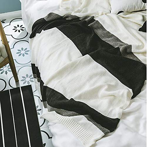 FUFU Mantas y mantitas Mantas de lanza de punto espesando para sofá, mantas de punto y tiros para sofá, manta de tiro suave, manta de tiro acogedor para cama, manta de tiro de granja, manta de tiro de