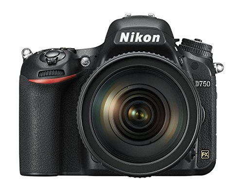 Nikon D750 Vollformat Digital SLR Kamera mit Nikon AF-S 24-120mm 1:4,0G ED VR (24,3 MP, Full-HD Video, EXPEED 4-Prozessor, 3,2 Zoll/8cm neigbarer Monitor mit 321.000 Bildpunkten, WiFi)