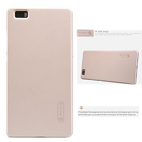 TIODIO Nillkin Frosted Shield Cover Protettiva Rigida Custodia Case per Huawei P8 Lite, Oro