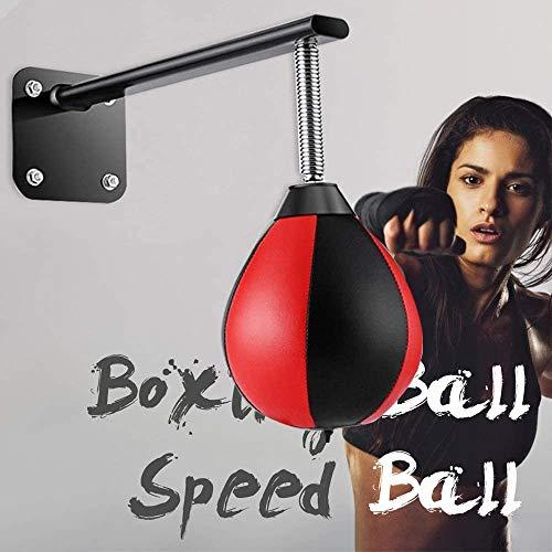 ETE ETMATE An der Wand montierter Boxball, Druckentlastungsball mit verstärkter Feder, Speedball für zu Hause, druckreduzierendes Boxziel für Kinder zu Hause