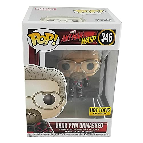 Funko POP! Marvel Ant-Man y la Avispa: Hank Pym sin máscara Exclusivo