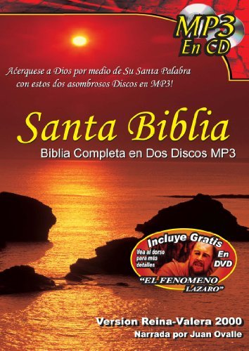 Santa Biblia / Completa en Dos Miscos MP3 PLUS DVD (Spanish Edition) by Reina-Valera 2000 (2012-08-01)
