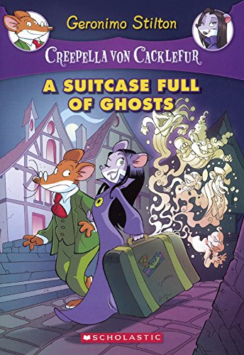 A Suitcase Full Of Ghosts (Turtleback School & Library Binding Edition) (Creepella Von Cacklefur)