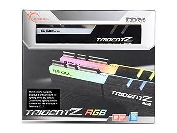 G.Skill TridentZ RGB Series 16GB  2 x 8GB  288-Pin SDRAM DDR4 3200  PC4 25600  F4-3200C14D-16GTZR