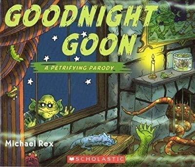 Goodnight Goon is a parody of the book Goodnight Moon lol