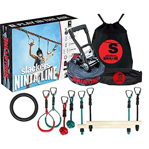 Slackers NinjaLine 36' Intro...