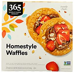 365 by Whole Foods Market, Homestyle Waffles Family Pack, 29.6 Ounce