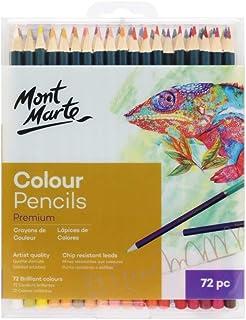 72pc Premium Colour Pencils Mont Marte Drawing Colour Pencils Artist Arts Craft