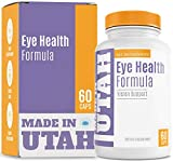 Eye Health Formula With Essential Vitamins, Minerals and Natural Herbs Including Lutein - Supports Overall Eye, Retina & Macula Health To Protect Your Vision And Keep It Healthy