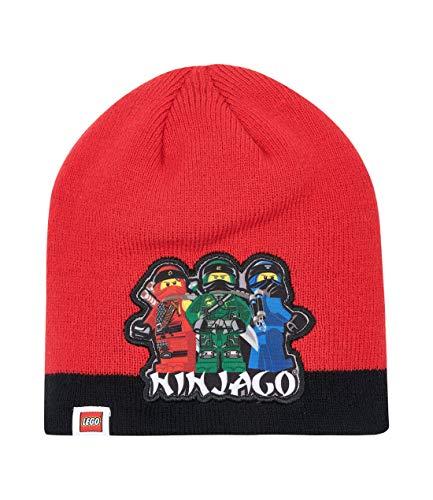 LEGO Ninjago Gorro de Lana para Chicos Rojo 52