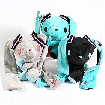 JJWYD Hatsune Miku Gloomy Bear Bunny Soft Stuffed Toys Lovely Plush Dolls 3pcs/Set- 17cm 3pcs Home Decoration