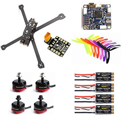 FairOnly XL5 232mm FVT LITTLEBEE BLÜHELI-S 30A RS2205 2300KV F3 ACRO Flugcontroller Kohlefaser DIY FPV Raicng Frame Kit RC Drohne Spielzeuge