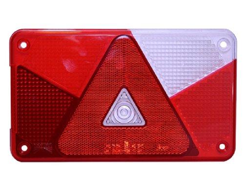 Lichtscheibe Aspöck Multipoint V rechts für Rückleuchte Rücklicht 18-8487-007 R