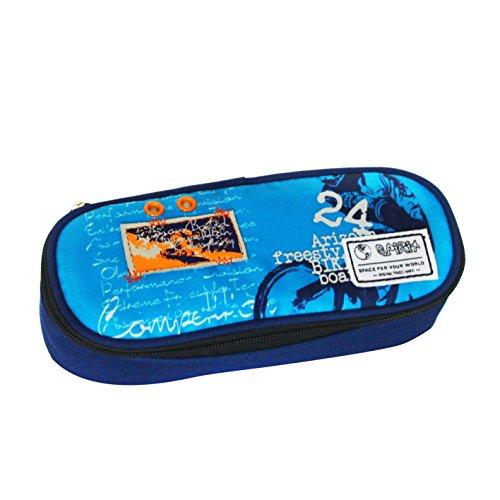 SPIRIT Biker etui, 22 cm, 2 liter, blauw