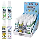 Wish Hand Sanitizer 2oz Spray with Vitamin E (CASE of 48) Assorted Scents