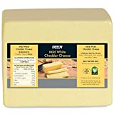 Country Range Mild White Cheddar Cheese - Pack Size = 1x2.5kg nm