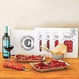 Smartbox - Caja Regalo - Envío de Pack de ibéricos, vinos y Aceite con La Cocina de Carmina - Ideas Regalos Originales