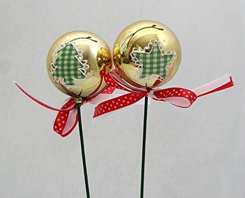 6 Boules de Noël avec Stecco Grands