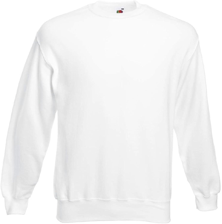 StoutMensShop Beefy Long Sleeve Crewneck Sweatshirt Big and Tall USA Made Vibrant colors