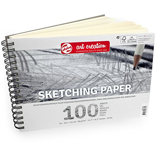 Royal Talens – Art Creation A4 Sketching Paper – 100 Sheets – 90gsm – Landscape