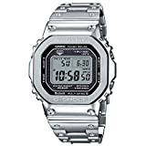 Casio G-Shock GMW-B5000D-1 Connected Tough Solar Stainless Steel Watch GMWB5000D-1 GMW-B5000D-1CR