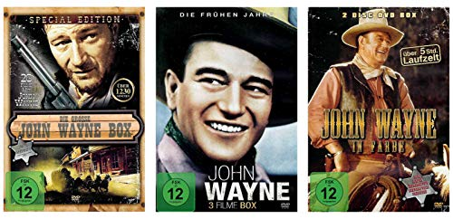 Die große John Wayne Western Collection - 29 Filme [7 DVDs]