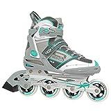 Roller Derby AERIO Q-60 Women's Inline Skates (Mint, Size 7)