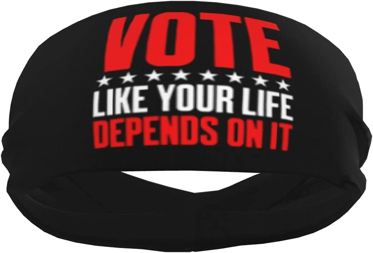Ldmsl Vote Like Your Life Depends It Unisex Oakland Mall On Athletic Los Angeles Mall Elastic