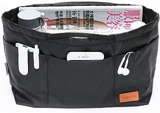 IN Multi-Pocket Travel Handbag Organizer Insert Medium for Tote bag Purse Liner Insert Organizer With Handles