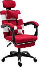 Home Computer Chair Adult Esports Game Chair Student Rotary Lift seat Office Chair Office boss Chair Chair with footrest (...