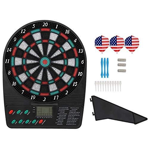 TX GIRL Elektronische Dartscheibe Dart Game Set LCD Display Automatische Scoring Dart Platte Zähltafel Büro-Party Bar Unterhaltung Spiele (Size : 26x20.2x2.5cm)