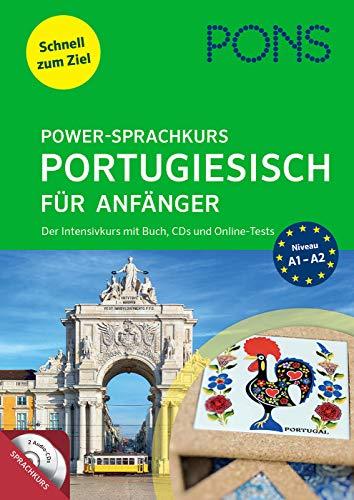 PONS Power-Sprachkurs Portugiesisch für Anfänger: Der Intensivkurs mit Buch, CD und Online-Tests
