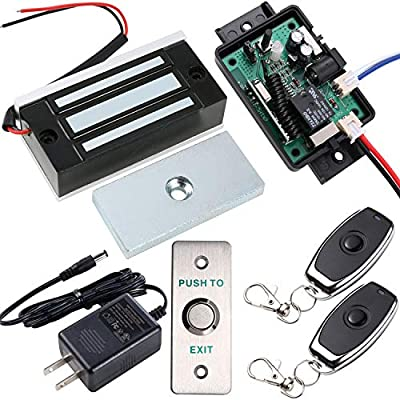 UHPPOTE Access Control Door Lock Kit System with Remote