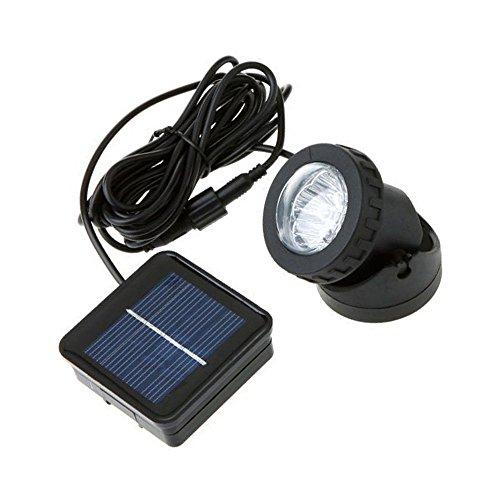 Xcellent Global LED d'extérieur lampe solaire Spot projecteur solaire Projecteur étanche pour bassin ou piscine étang M-LD054