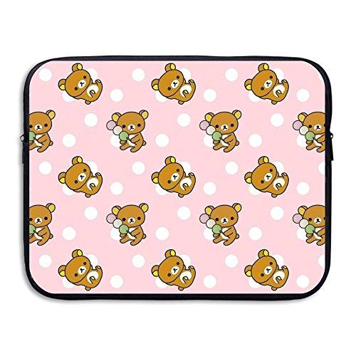 Summer Moon Fire Rilakkuma Briefcase Handbag Case Cover for 13-15 Inch Laptop, Notebook, MacBook Air/Pro