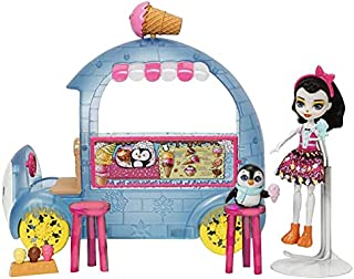 Enchantimals Wheel Frozen Treats Preena Penguin Doll And Playset - 4 Years & Above, One Size Various Colours,FKY58 - 27246...