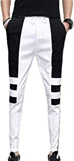 Mogogo Mens Tapered Relaxed Slim Active with Pockets Drawstring Sport Pants